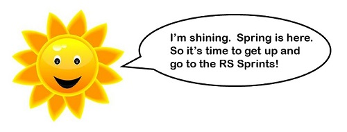 More information on It's sunny out there so let's go sailing at the RS Sprints!