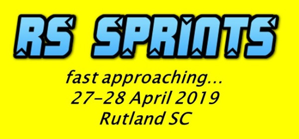 More information on The RS Sprints is racing towards us!
